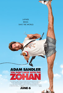 You Don't Mess with the Zohan Poster