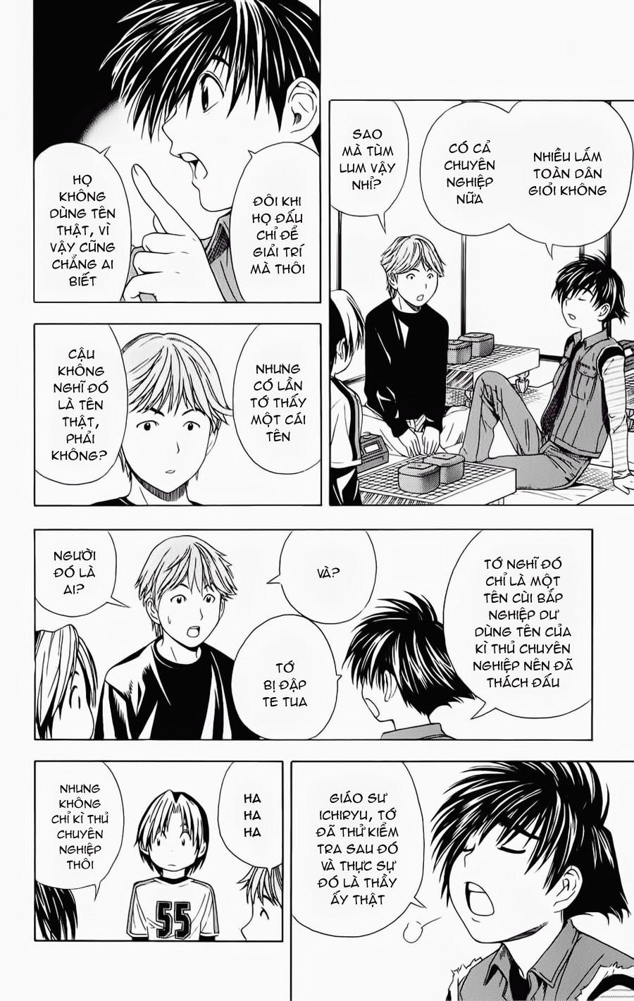 Hikaru No Go hikaru no go chap 55 trang 22