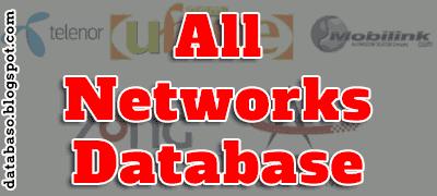 All Networks Sim Database 2015 Download