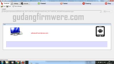 Flash Menggunakan DFU Flash Tool