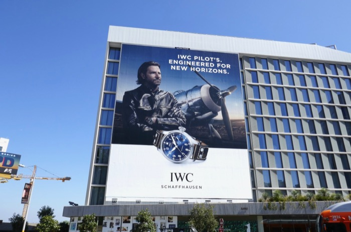 IWC Pilots watch billboard