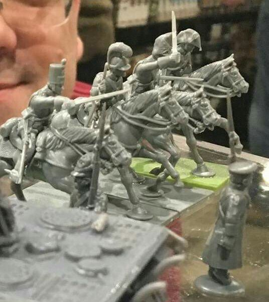 Warlord Games: Plastic Napoleonic British Heavy Cavalry