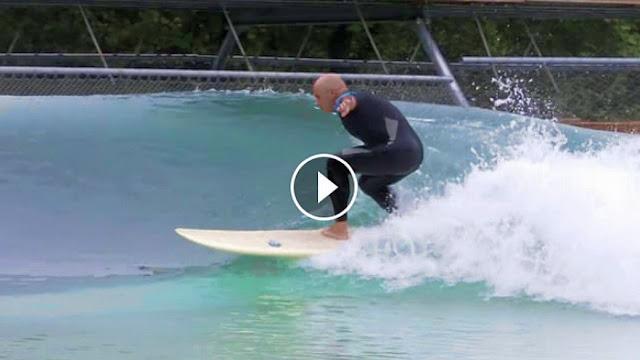 2015 Video Test Series N 3 Blind Surfer Rides Wavegarden
