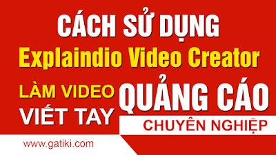 Làm video quảng cáo chuyên nghiệp với Explaindio Video Creator