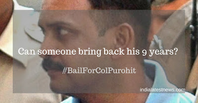 Colonel Purohit Gets Bail: 'Hindu Terror' Balloon to be BUSTED Soon!