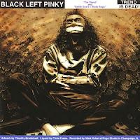 "FRANTICS / BLACK LEFT PINKY  split  7"""