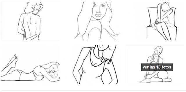 Tips de poses para modelar en tus fotografías
