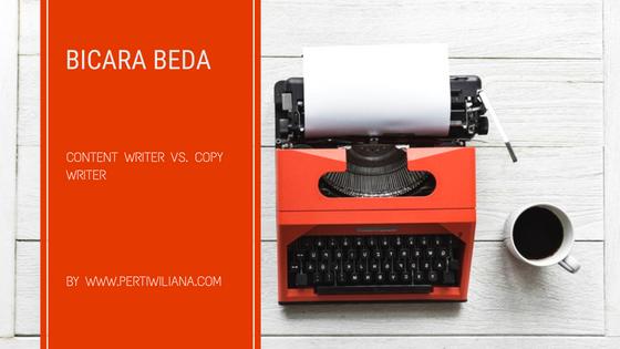 Content Writer VS. Copywriter