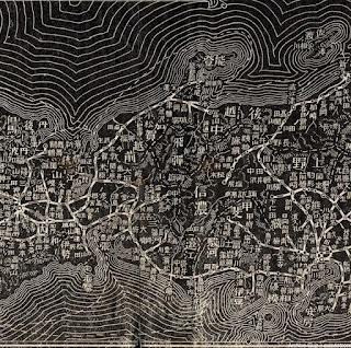 明治38年(1905)大日本汽車線路略図 中部