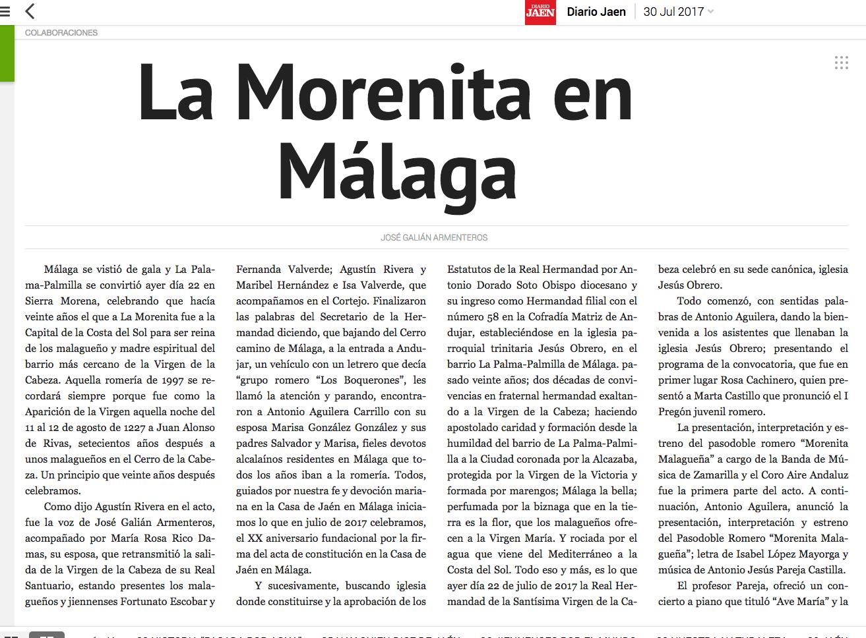 Casa de ja n en m laga la morenita en m laga diario ja n - Casas rurales la morenita ...