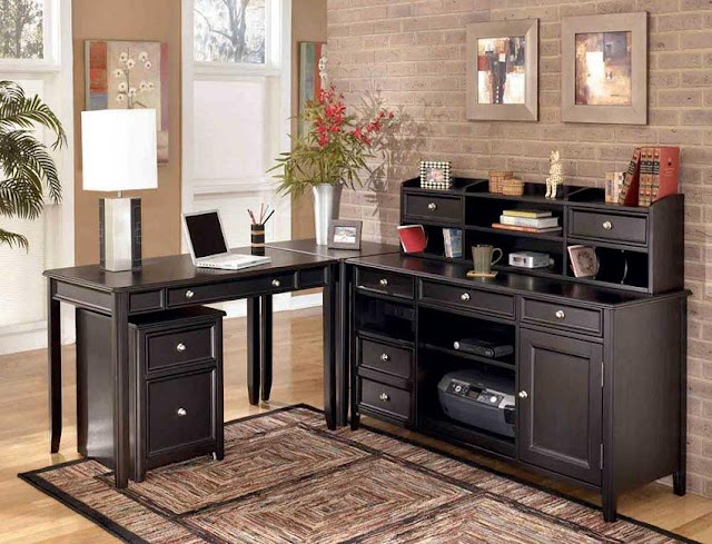 best home office desk design ideas with drawer and storage pictures