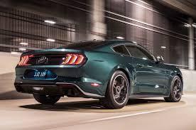 2019 Mustang Bullitt back