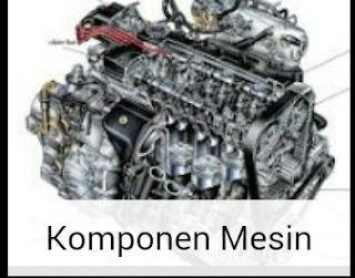 Komponen Mesin pada sepeda motor