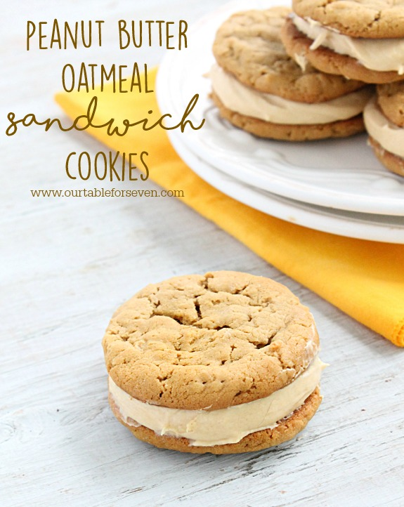 Delicious peanut butter oatmeal cookies are kicked up a notch when ...