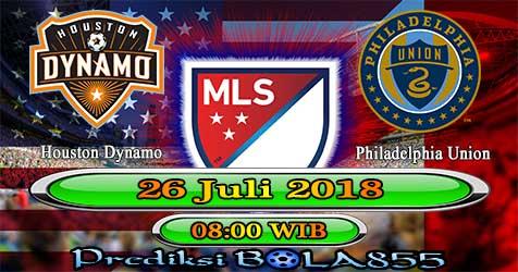 Prediksi Bola855 Houston Dynamo vs Philadelphia Union 26 Juli 2018