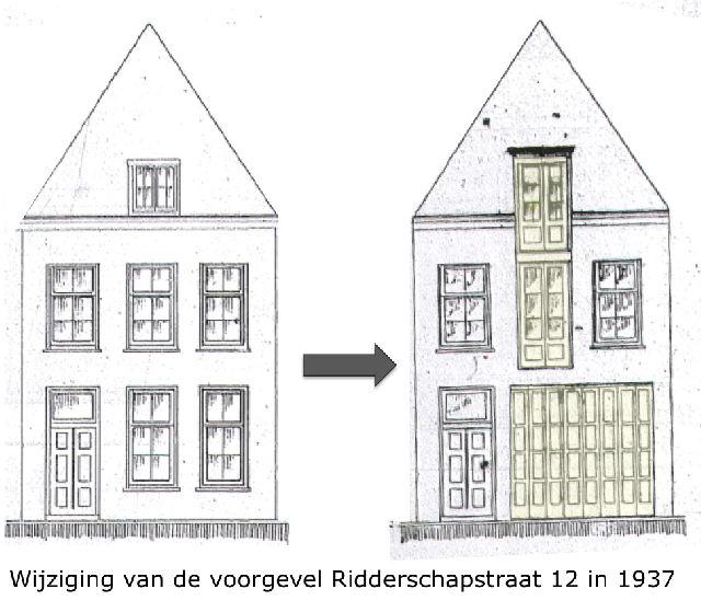 Ridderschapkwartier eerste nieuwe huizen aan de ridderschapstraat met 10 12 14 - Gevels van hedendaagse huizen ...