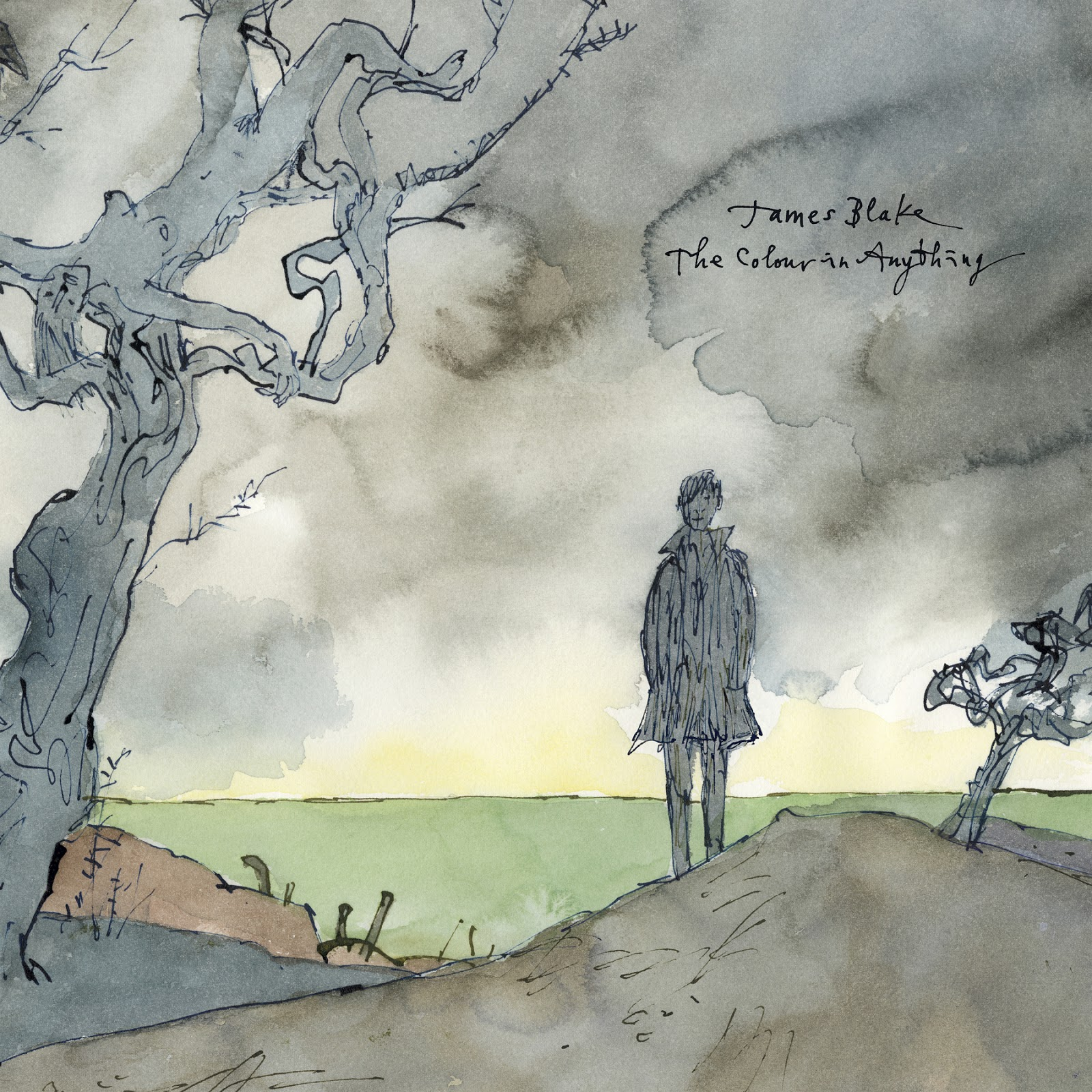 James Blake - The Colour in Anything Cover