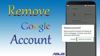 Cara Remove Akun FRP Bypass Asus Zenfone 4 Max ZC520KL