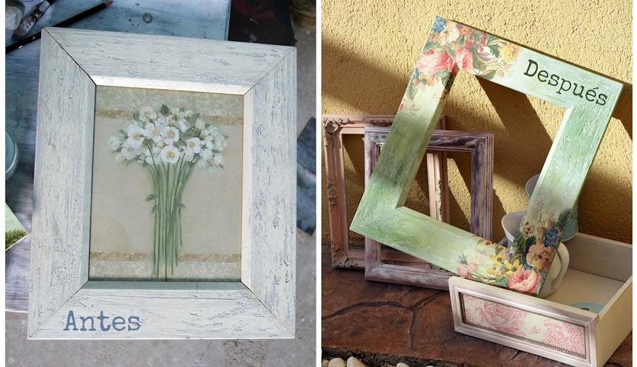 como decorar marcos