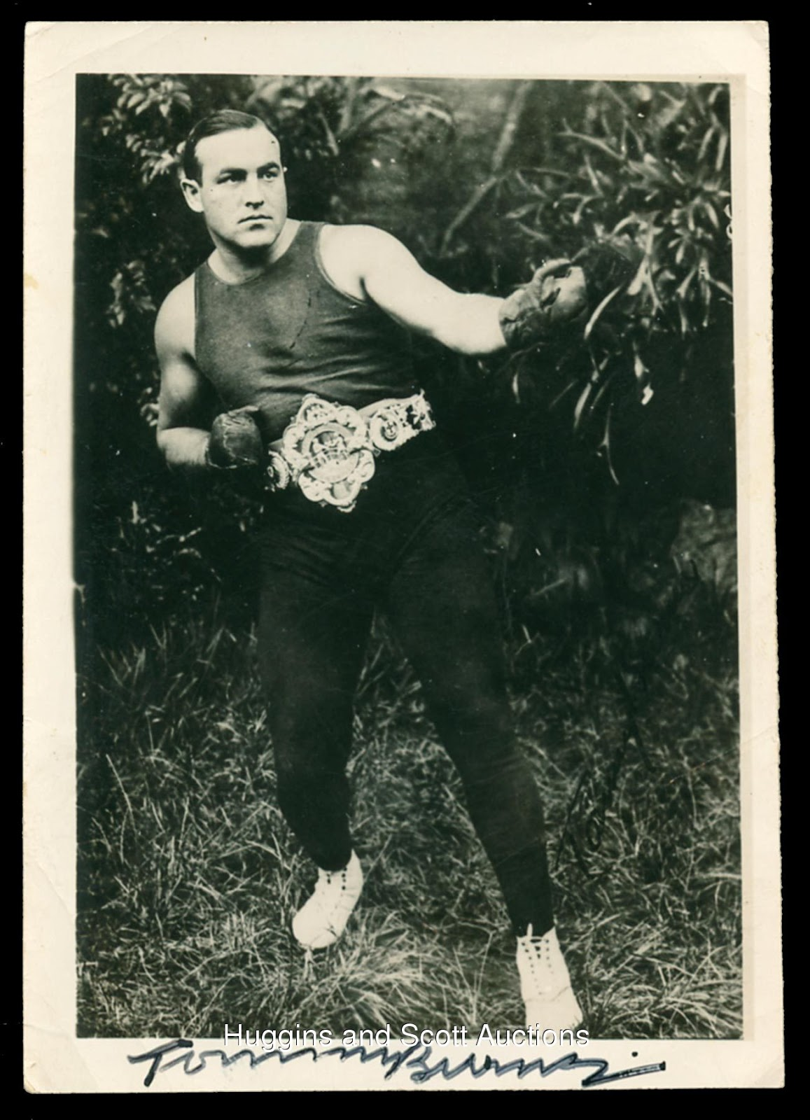 tommy burns boxer biography of martin