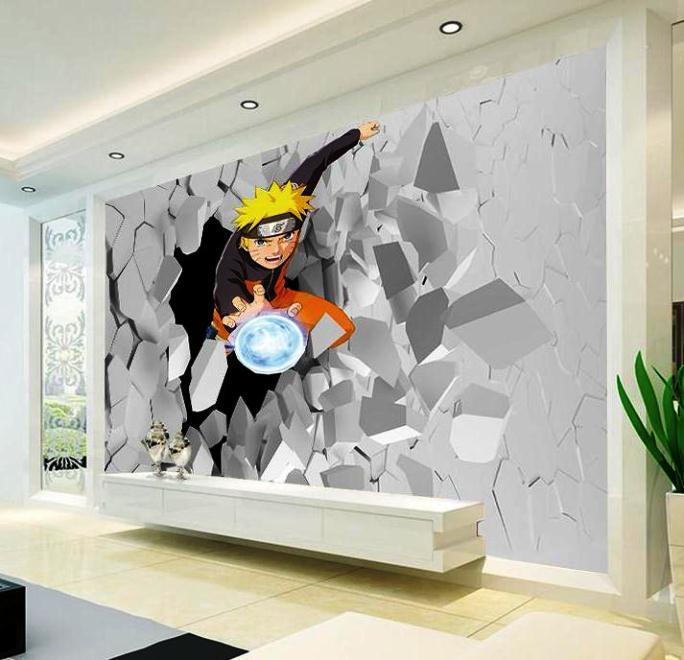 Gambar Wallpaper Dinding Tema Naruto