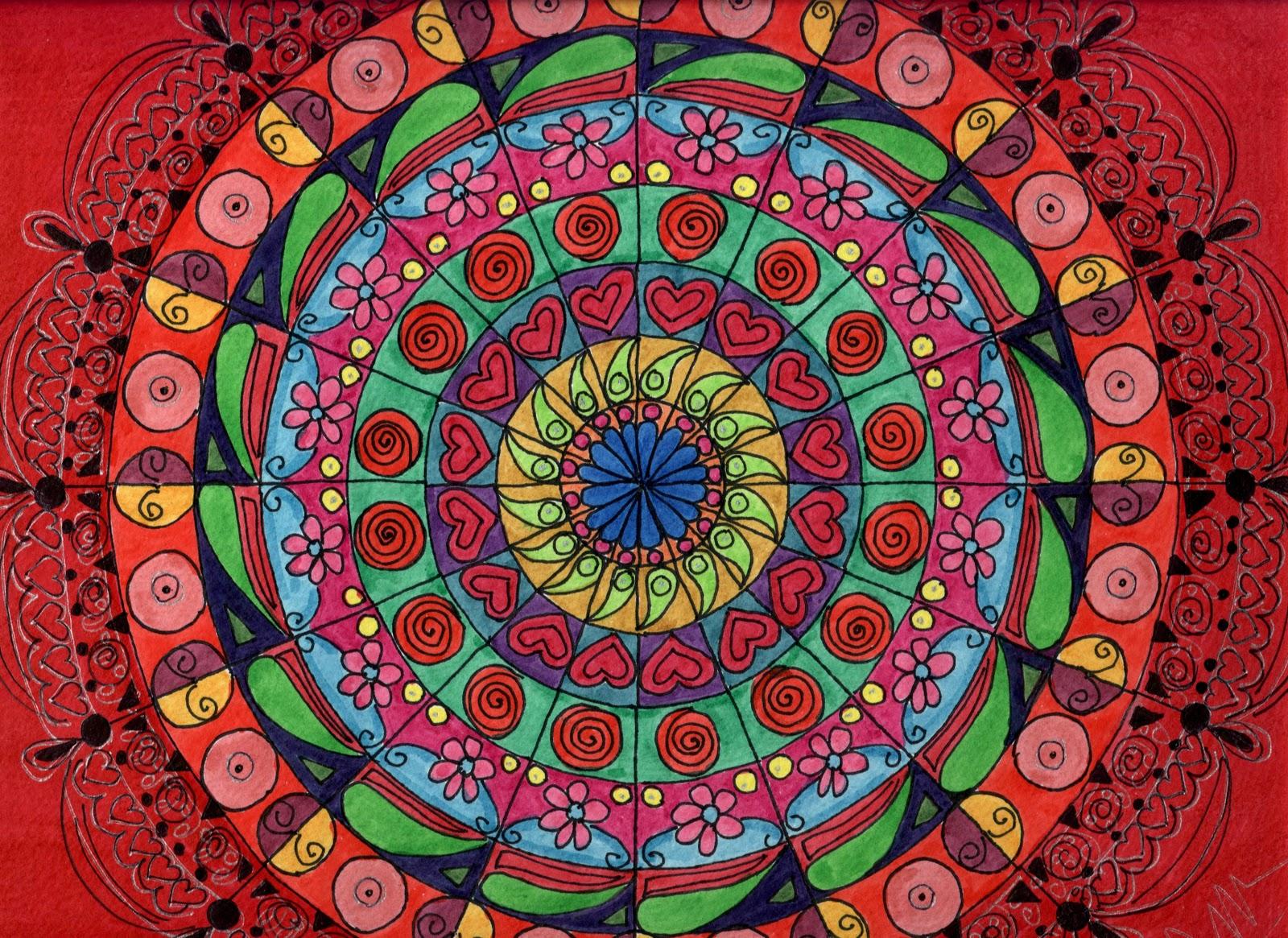 Adriana Azzolina Pinturas Mi Experiencia Con Mandalas - Pinturas-de-mandalas