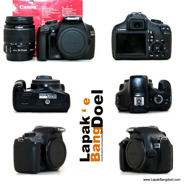 Canon 1100D + kit 18-55mm IS II