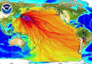 Fukushima sigue contaminando los océanos.