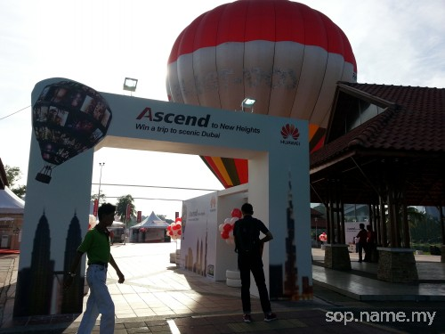 Ascend To New Heights dengan Huawei