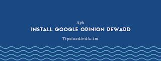 Google opinion reward application