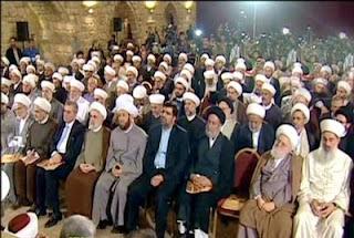 Muktamar Ulama Syam yang di hadiri Mohammad Tawfik al-Bouti (Putra Asy-Syahid Syaikh DR. Said Ramadhan al-Bouti)