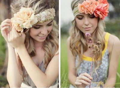 Crea tu Diadema de Flores de Tela