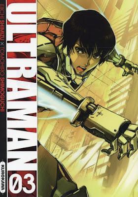Ultraman tome 3 kurokawa