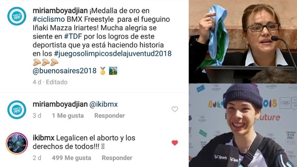 Iñaki Mazza pidio a Boyadjian legalizar el aborto