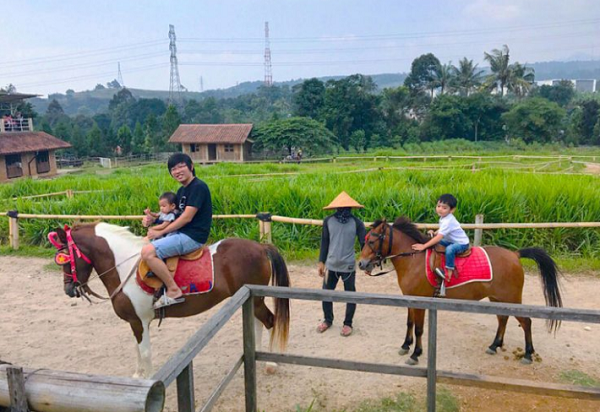 wisata anak di Bogor Kuntum Farm Field