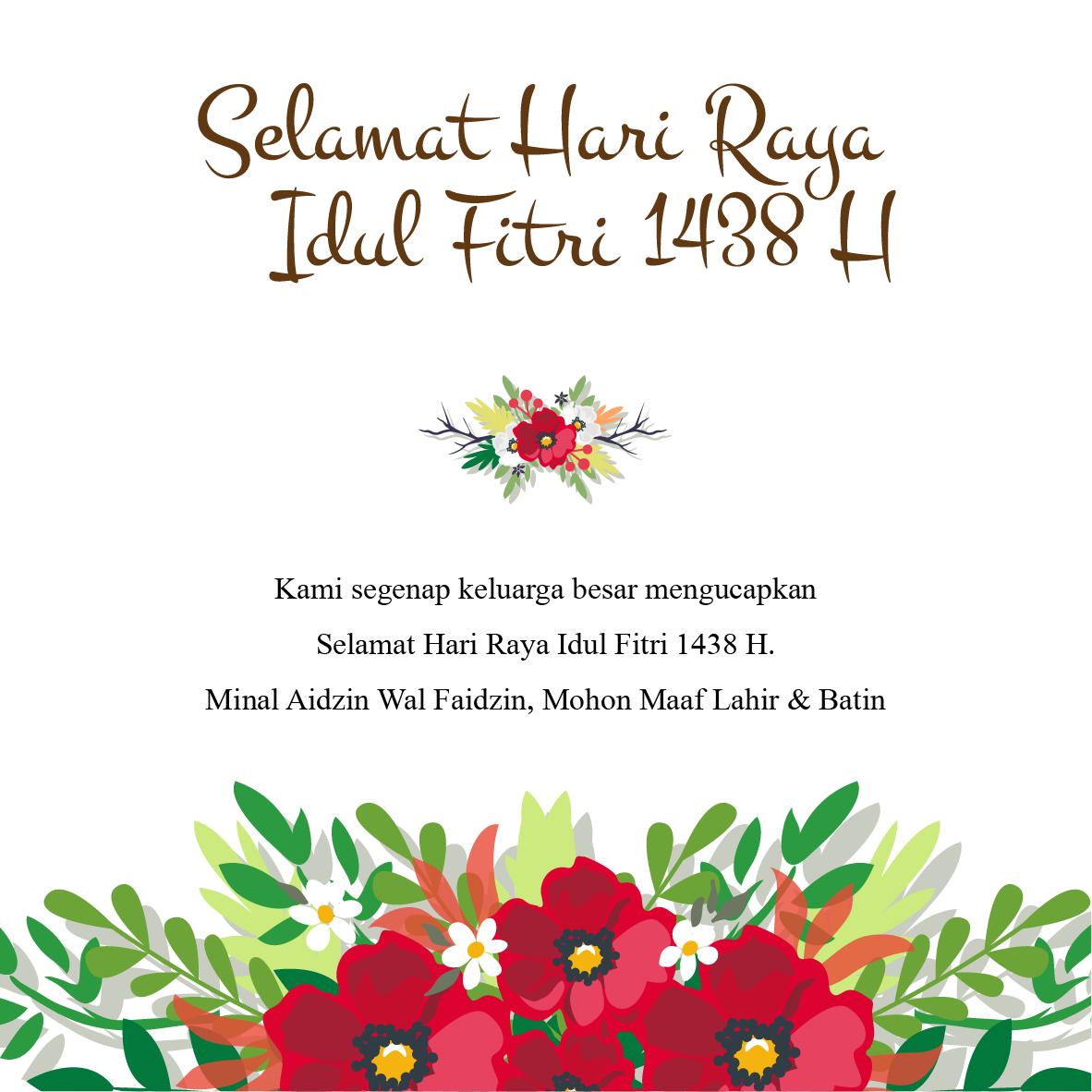 Nail By Artinya: Desain Kartu Ucapan Idul Fitri