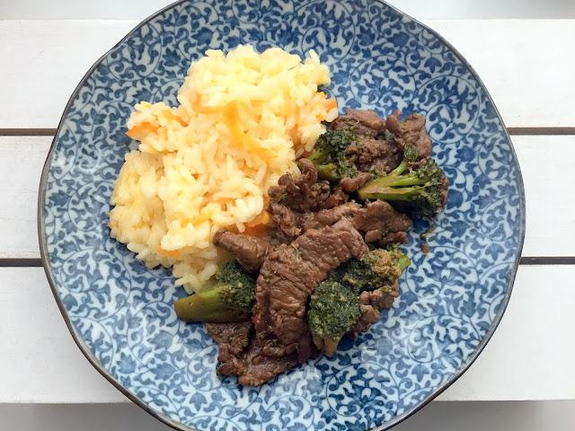receita carne brócolis