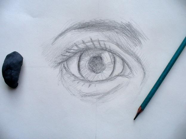 Dibujos A Lapiz Anime Llorando Ojos