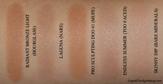 Crystal Candy Makeup Blog Swatches Poudre