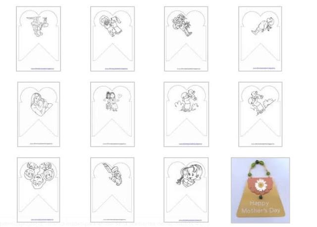 87 ideas de manualidades fáciles para el día de la madre