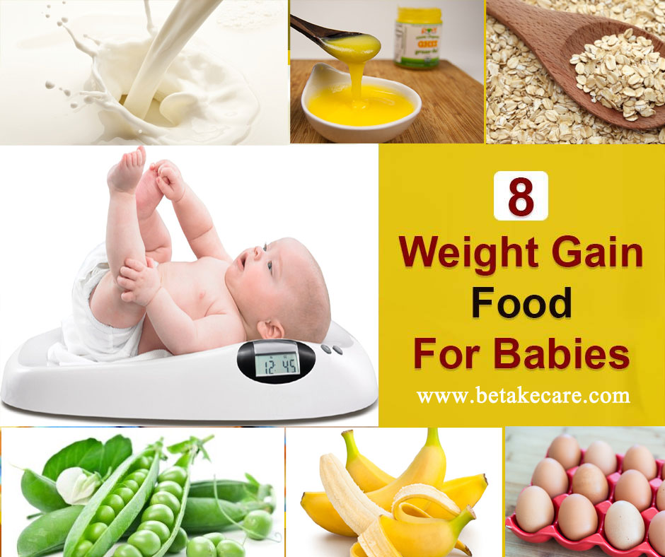 Top 8 Weight Gain Foods For Babies