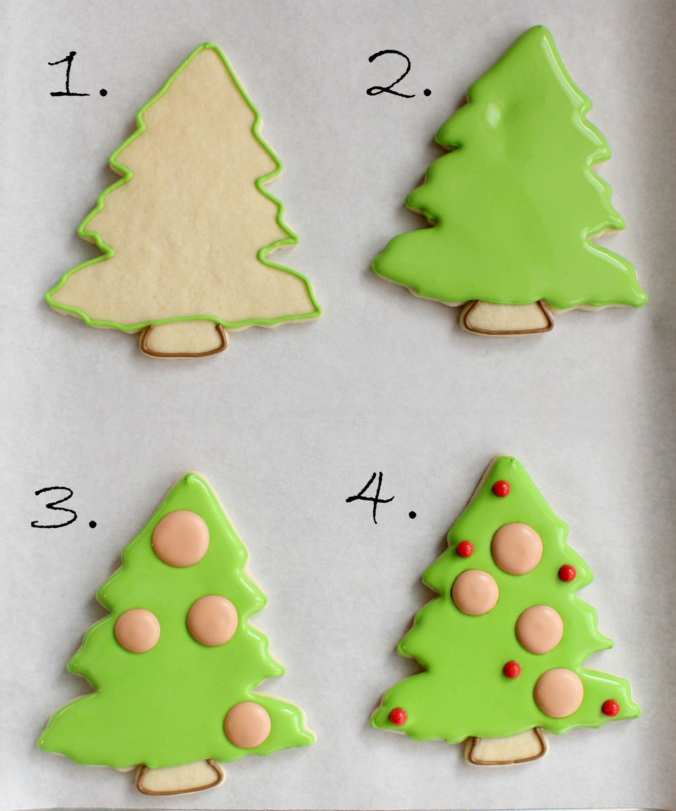 Christmas Family Tree Cookies {with printable toppers ...