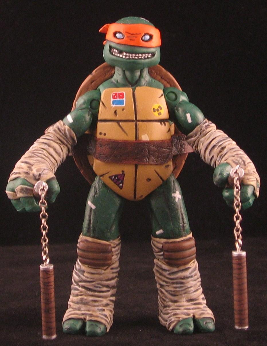 Teenage Mutant Ninja Turtles Toys 2013 : Super punch custom teenage mutant ninja turtle action figures