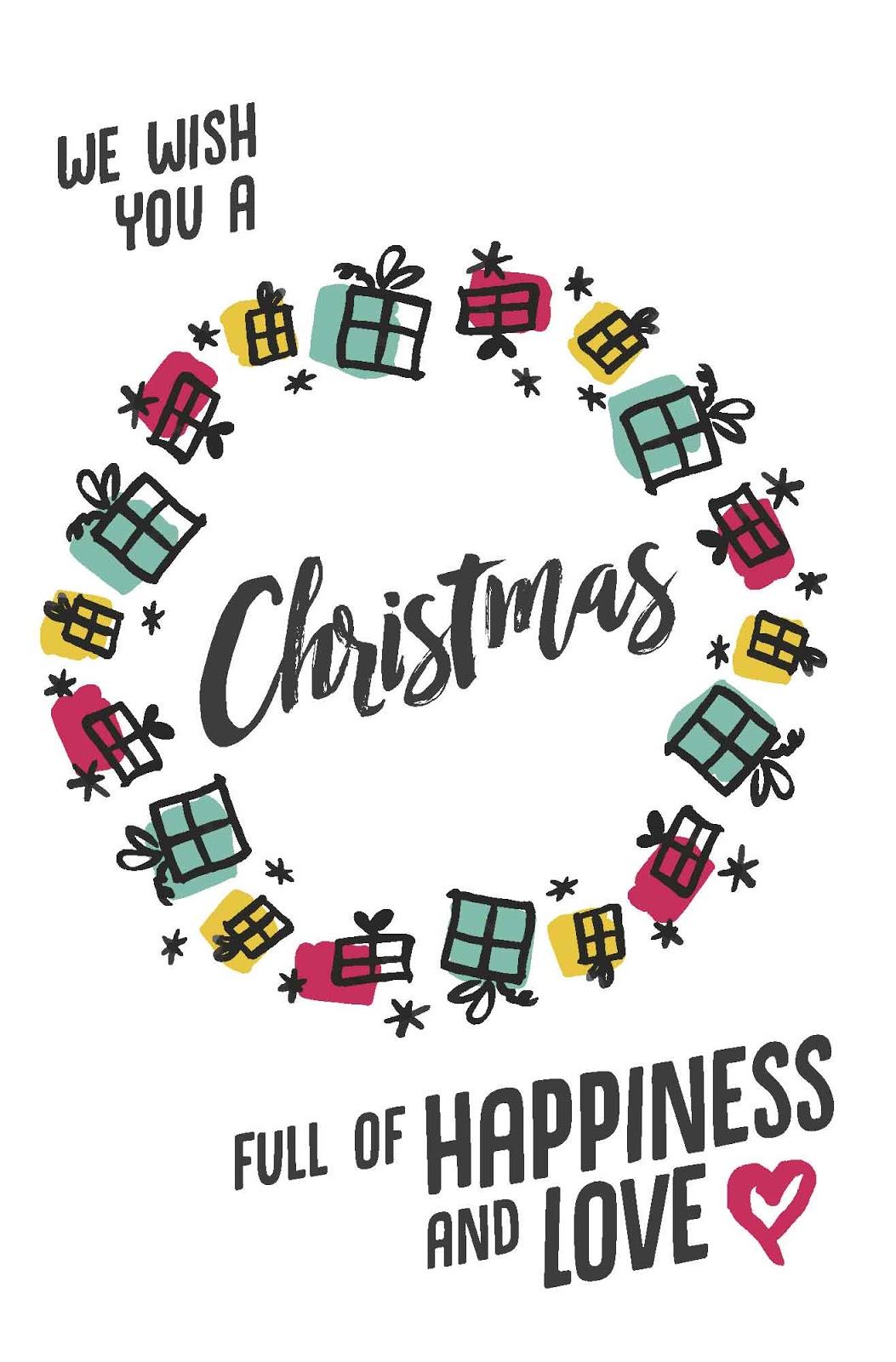Card for Christmas Greeting