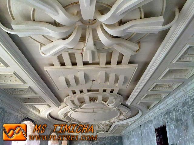 Platre Plafond Modérn