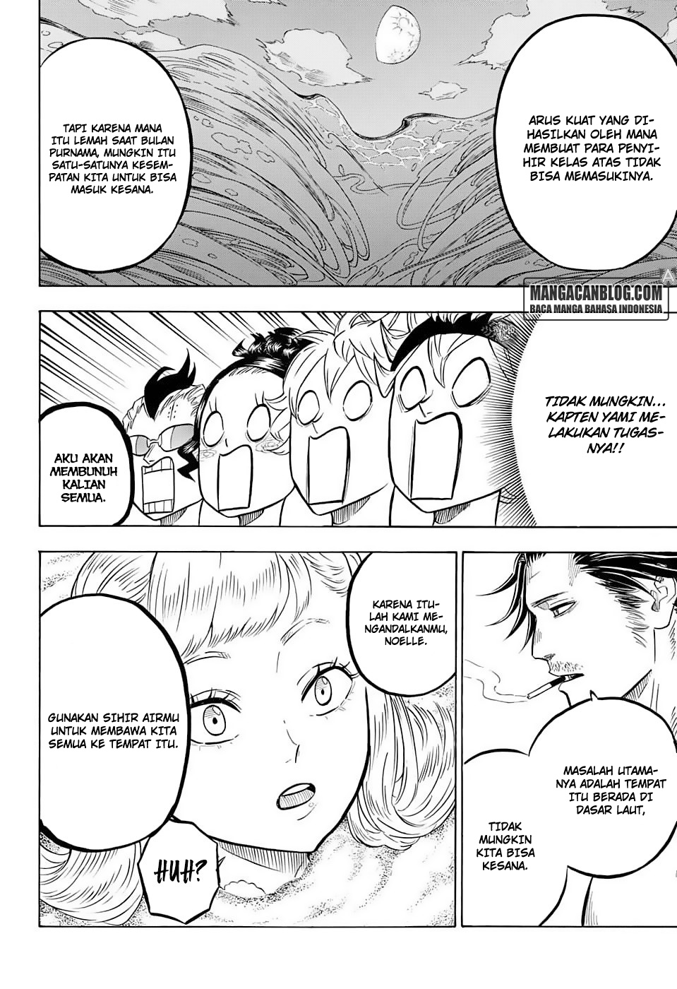 Manga Black Clover Chapter 57 Bahasa Indonesia