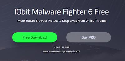 IObit Malware Fighter adalah program anti-malware dan antivirus gratis