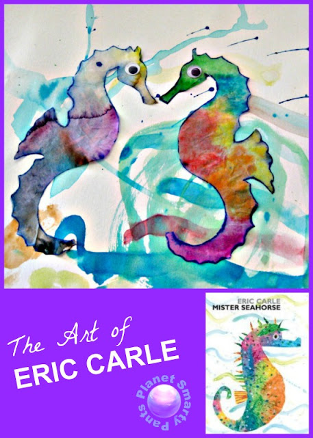 Guided Art for Preschoolers: Eric Carle