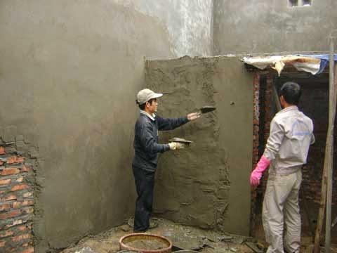 tìm thợ nề xây trát ốp lát tận nhà