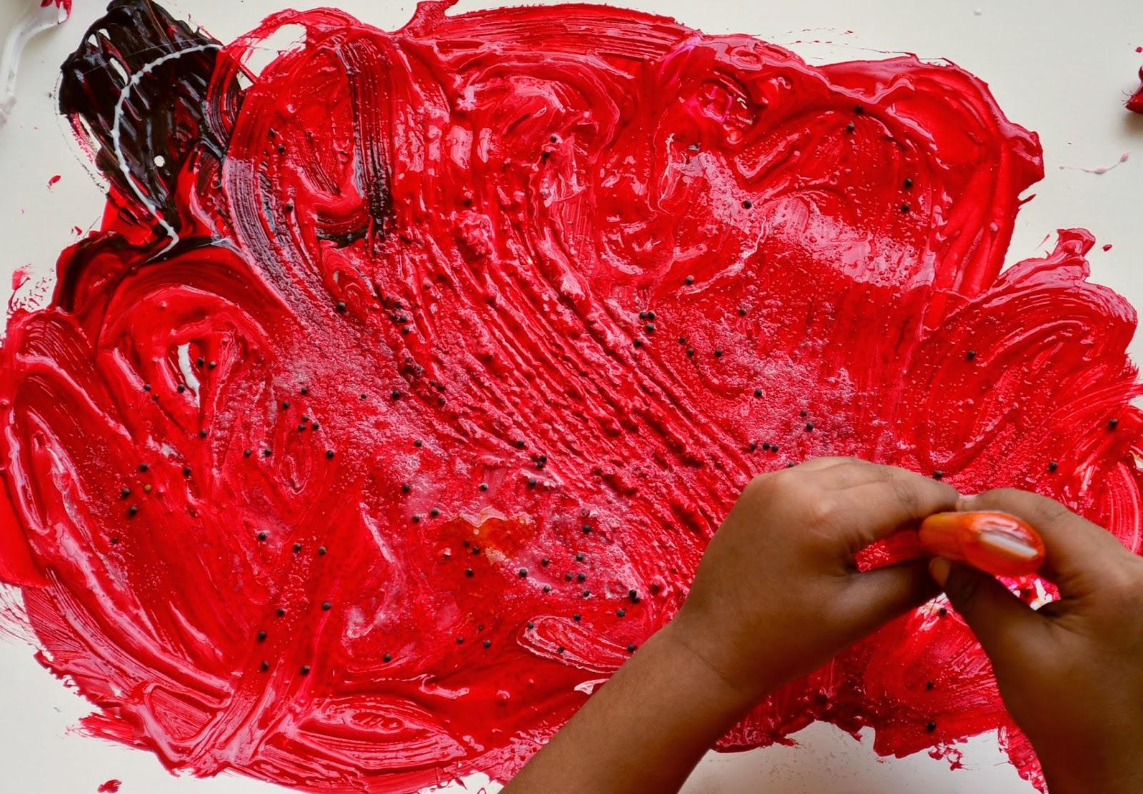 The Practical Mom: Process Art: Exploring Textures with Preschoolers
